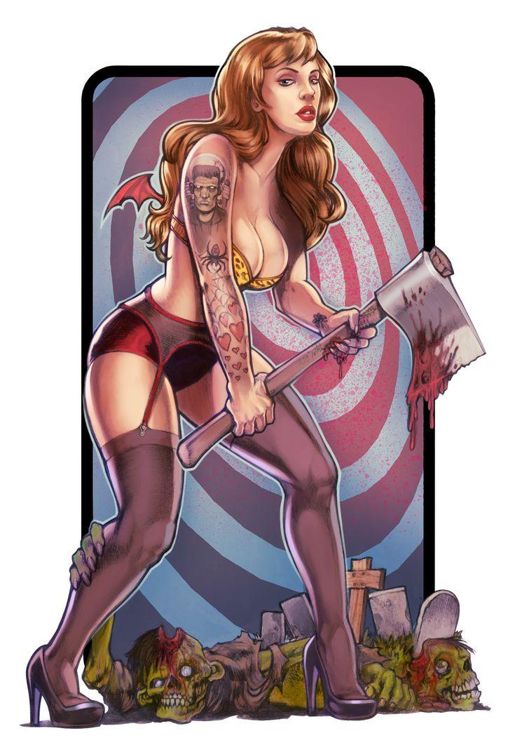 Miss Lucysin by ~WacomZombie: Illustrations Art, Kickass Art, Graphics Art, Adutl Art, Lucysin Pin, Digital Art, Elgunto S Deviantart, Deviantart Favourit, Lucysinpin Upbi