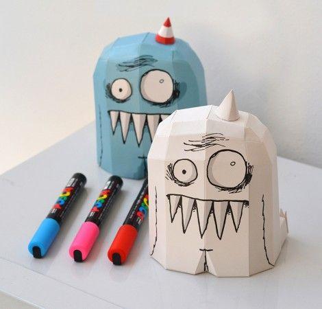 Paper Toy OLGA x 2