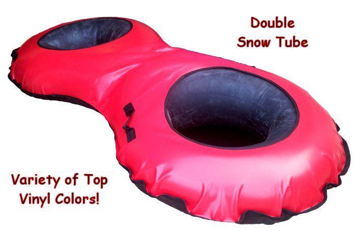 Commercial Double Snow Tube from store.sledriding.com   #Sleds #Sledding #ExperienceWinter #SnowTube #SnowTubing