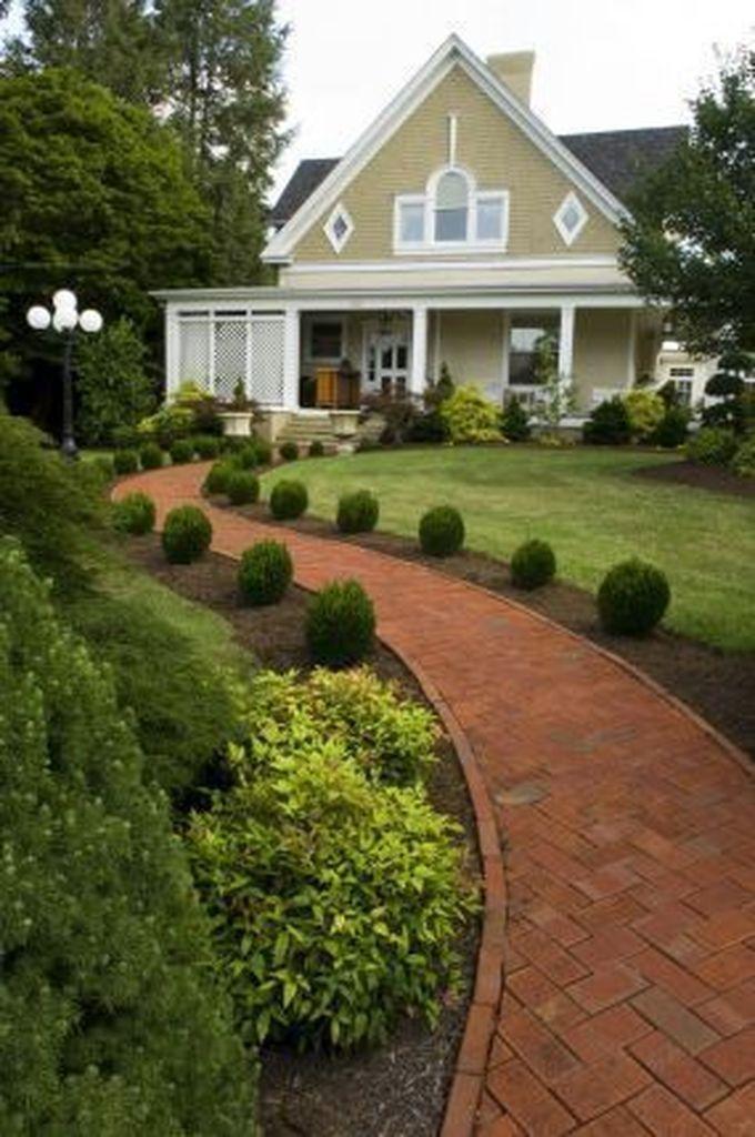 37 Simple Lawn Front Yard Landscaping Ideas Senderos De Jardin Jardines Jardines Modernos