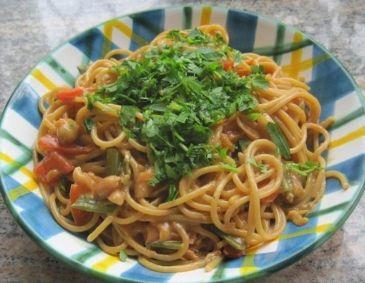 One Pot Pasta Asia Style