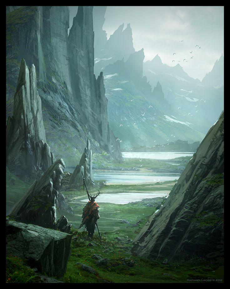 Asgard's Journey by Raphael-Lacoste.deviantart.com on @deviantART