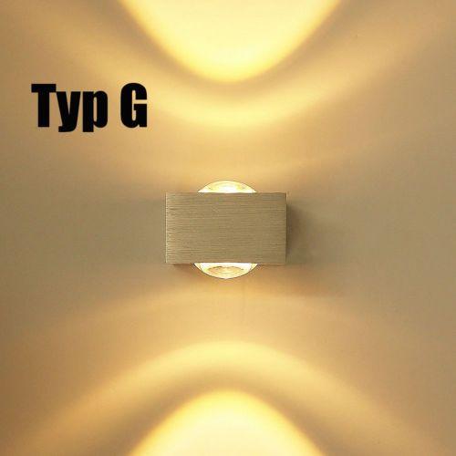 Design-Wandleuchte-LED-Wandlampe-Flurlampe-Badlampe-Deckenleuchte-Warmweiss-DHL