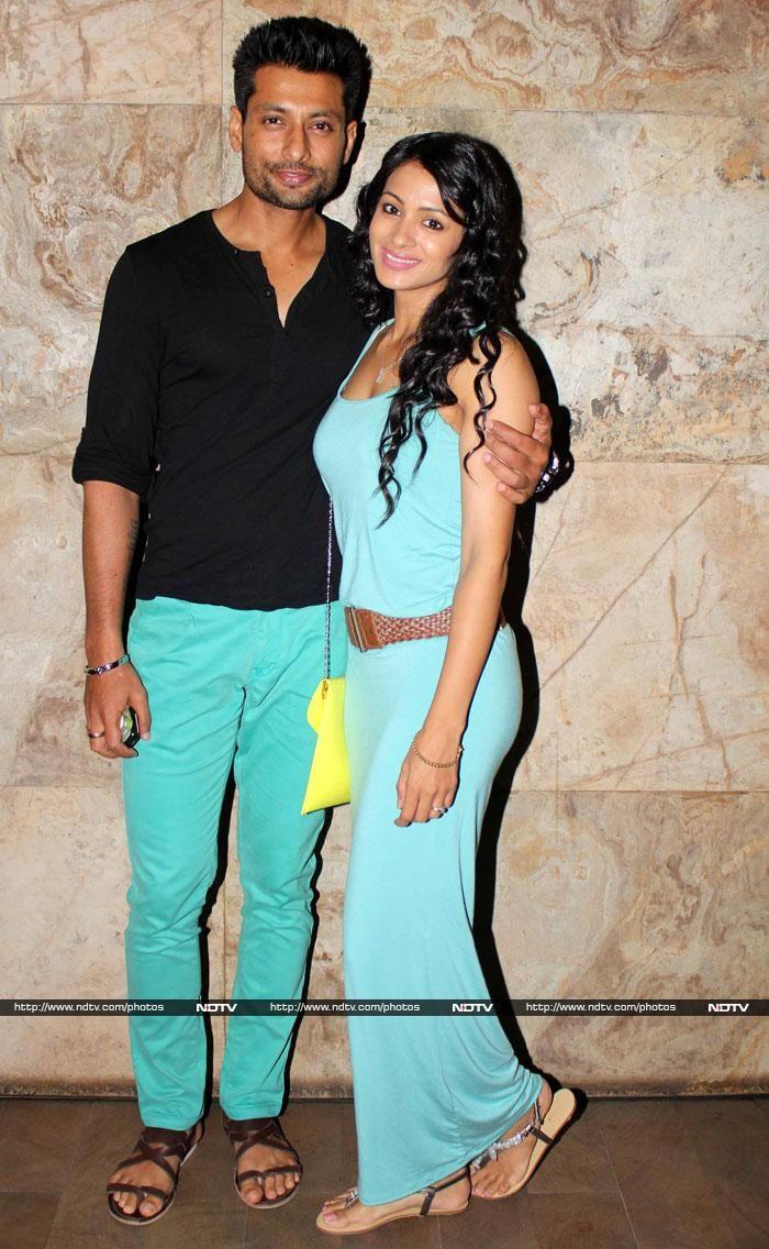 Indraneil Sengupta and Barkha Bisht