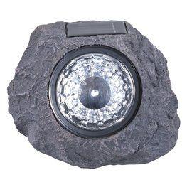 Solcellslampa SKATA sten-look