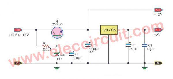 High Current 12v 13 8v At 30a 25a 20a 15a Power Supply Elec Circuit Power Supply Circuit Power Supply Power