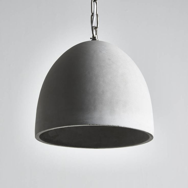 Architectural Concrete Pendant Light £95 Not on The High Street