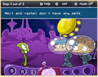 Interactive Education: Alien Punctuation / practice capitalization and punctuation, including quotation marks