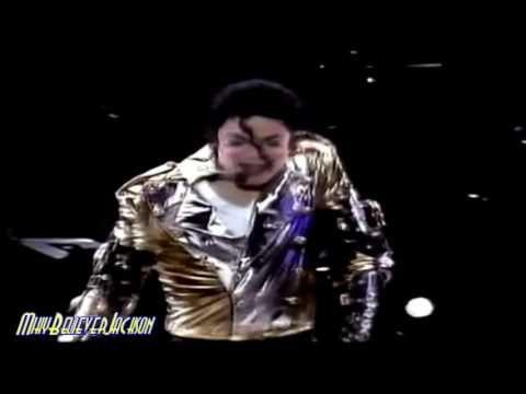 Michael Jackson ( History Word Live Tour ) sus impresionantes movimiento...