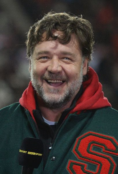 Russell Crowe Photos: St Helens v South Sydney Rabbitohs - World Club Series