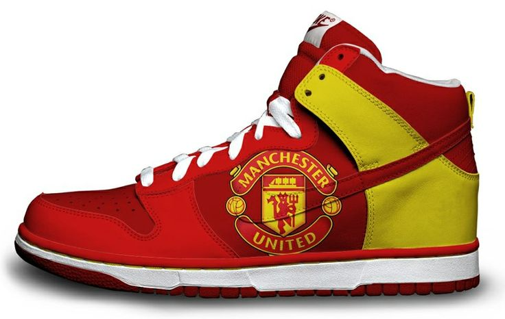 Manchester United sneakers | Red Devils | Sneakers, High ...