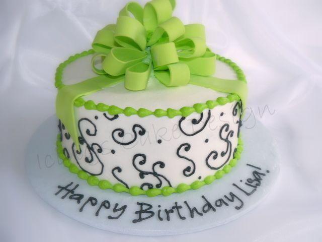 lime green cakes... my birthday cake someday?   Fun food ...