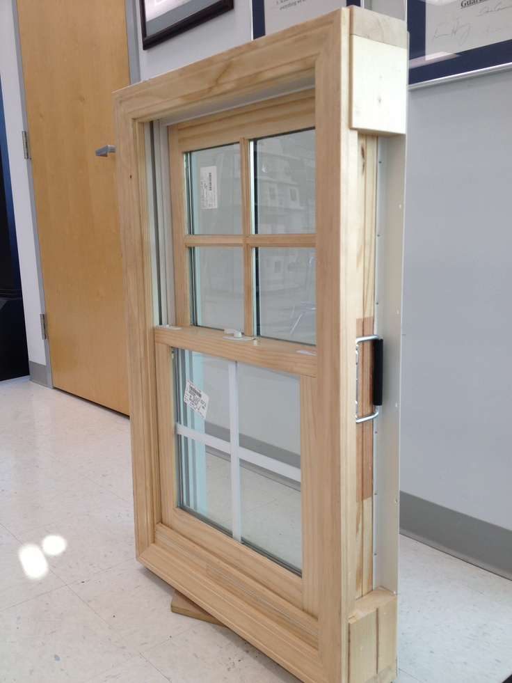 Ply Gem Wood Clad Double Hung Window With 7 8 Quot Simulated