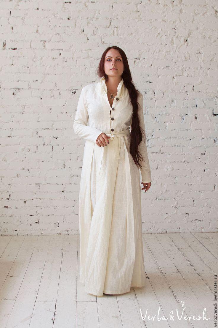 Купить Длинное молочное платье Veresk Вереск - verbaveresk, вербавереск, авторские платья, новая коллекция