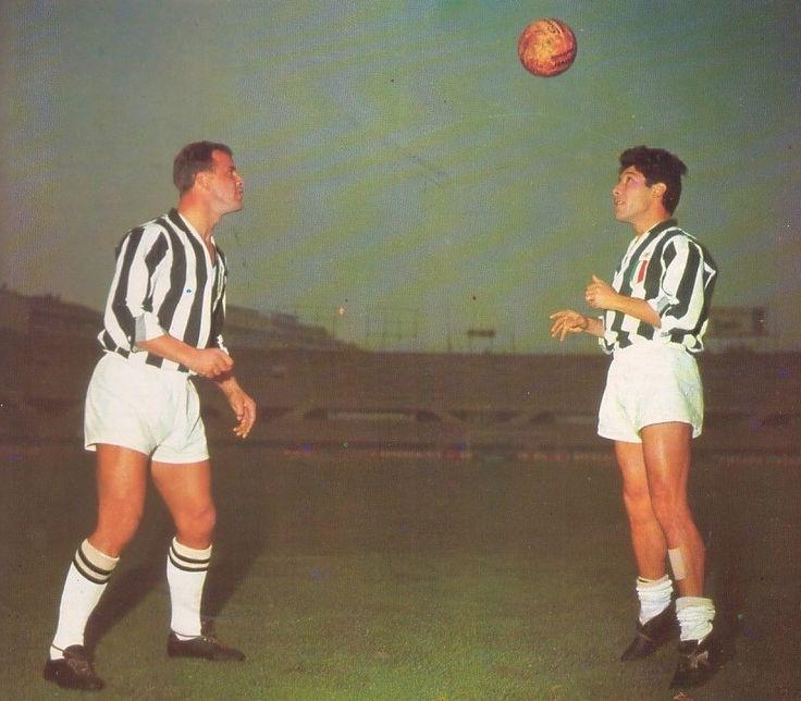 William John Charles e Enrique Omar Sívori - Juventus