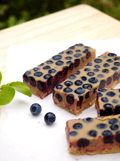 Järjettömän hyvä lucuma-mustikkafudge  kategoriat: Herkut / jälkiruoka, Jälkiruoka, Välipala / snacks