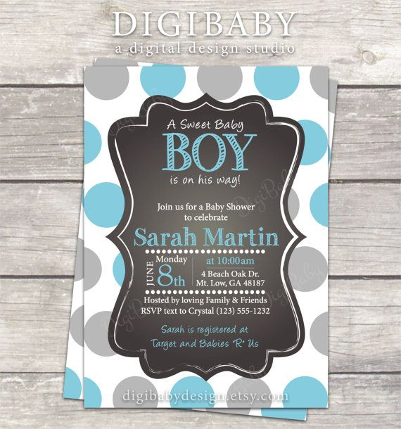 pinterest • the world's catalog of ideas, Baby shower invitations