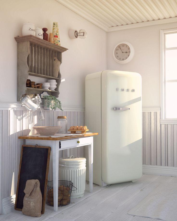 Danish White kitchen by Antonio Mossucca | Architecture | 3D | CGSociety