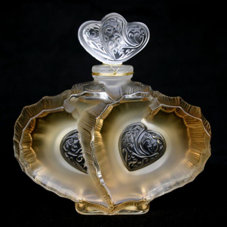 ❤ - René Jules Lalique perfume bottle