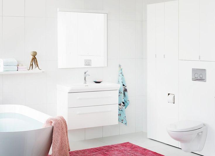 Det finnes uendelig mange måter å innrede små bad på. Med enkle grep kan du skape romfølelsen du lengter etter. Her følger noen smarte tips som kan gjøre dit...