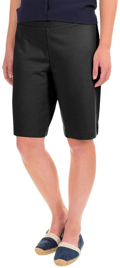 Specially made Stretch-Knit Bermuda Shorts (For Women)