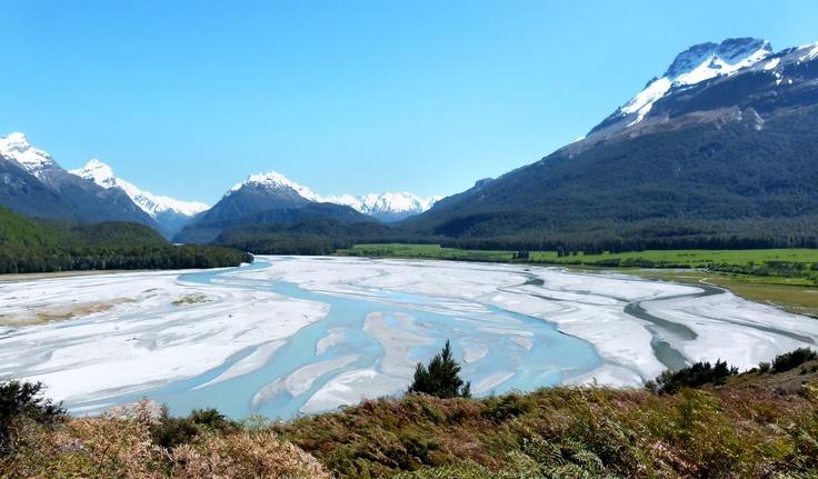 Isengard - Dart River. #travel #middle-earth #Queenstown #NewZealand