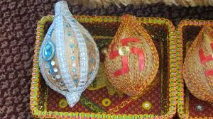 indian engagement tray decoration ideas - Google Search
