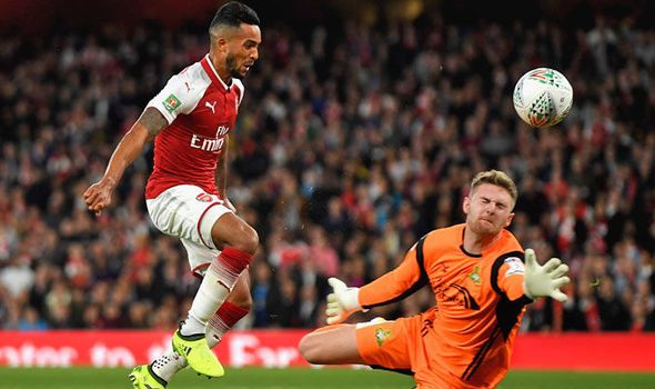 Arsenal 1 - Doncaster 0: Walcott bags goal as Gunners reach Carabao Cup fourth round   via Arsenal FC - Latest news gossip and videos http://ift.tt/2xwAVVT  Arsenal FC - Latest news gossip and videos IFTTT