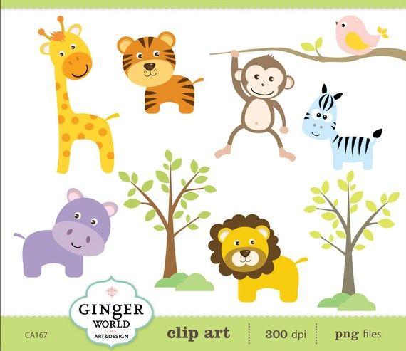 safari baby animals
