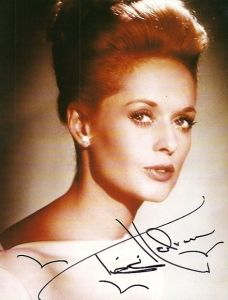 Actress Tippi Hedren, mother of actress Melanie Griffith