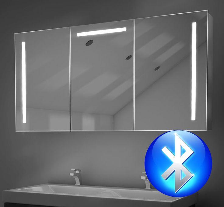 Fraaie 120 Cm Spiegelkast Met Vele Opties Zoals Verlichting, Verwarming,  Bluetooth Muzieksysteem En Een