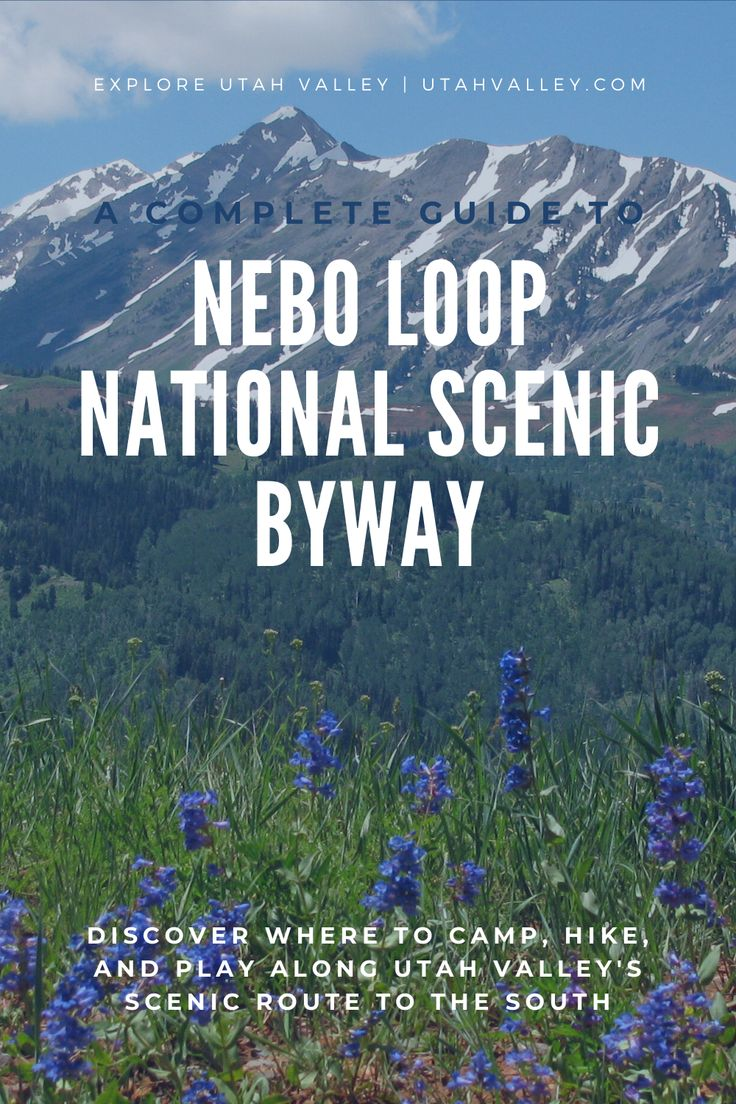 The Nebo Loop National Scenic Byway is a 38-mile (one-way ...