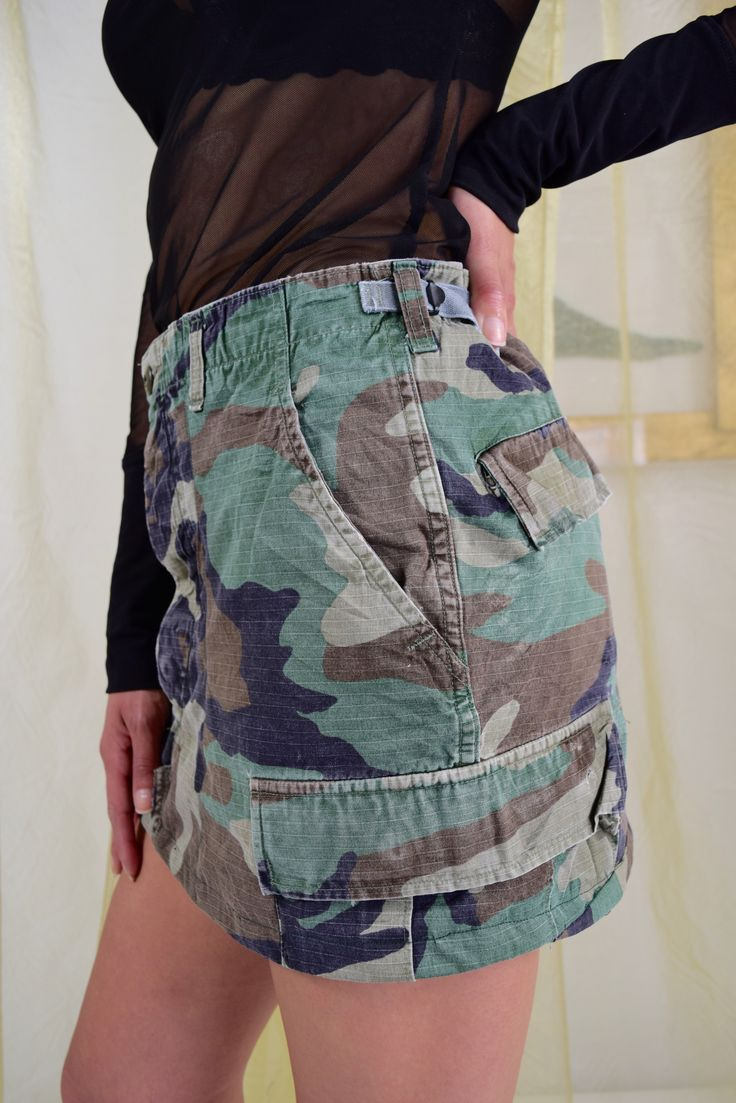 Camo Skirt for Women, Camouflage skirt for women, Camo Skirt, Original Camo  skirt