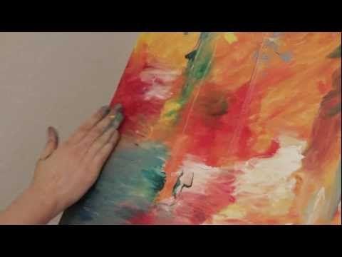 ВОРКШОП - Рисование маслом (картины участников)