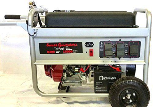 Honda Tri Fuel Generator carry out bundle 15000 Starting Watts 8400 managing Watts