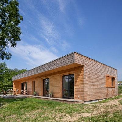 Maisons bois : un concept innovant d'architecte constructeur