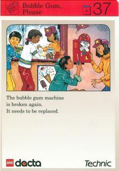BrickLink - Book 9603b94 : Lego Set 9603 Activity Card Application: Invention 37 - Bubble Gum, Please [Curriculum Activity Book:Educational & Dacta:Technic] - BrickLink Reference Catalog