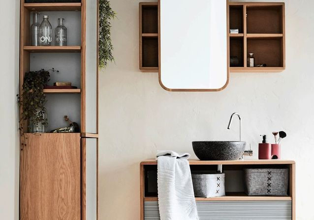 20 meubles pour une petite salle de bains - Elle Décoration douche