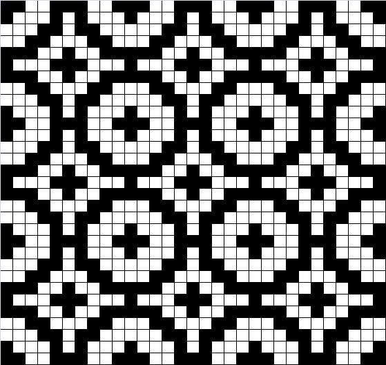 mosaic knitting charts - Поиск в Google