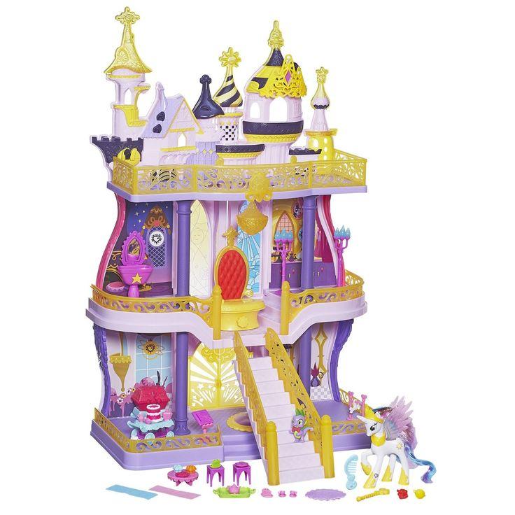 Toys-Hasbro-Canterlot-Castle-Playset