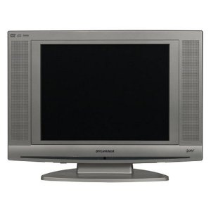sylvania ld 155sl8 15 inch lcd hdtv with built in dvd player by sylvania. Black Bedroom Furniture Sets. Home Design Ideas