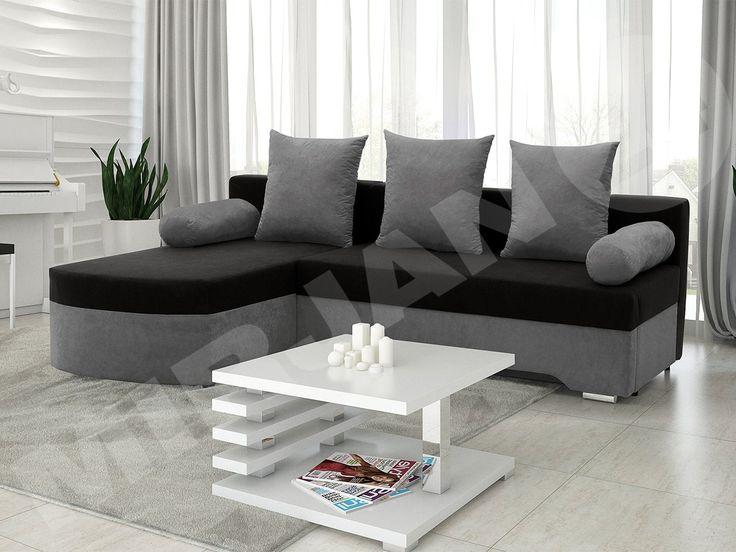 Designerski model narożnika sprawdzi się w Twoim domu! Więcej kolorów tutaj-> http://www.mirjan24.pl/narozniki-pokojowe/5316-naroznik-z-funkcja-spania-oski.html #narożnik #okazja #promocja #sale #salon #livingroom #cornersofa