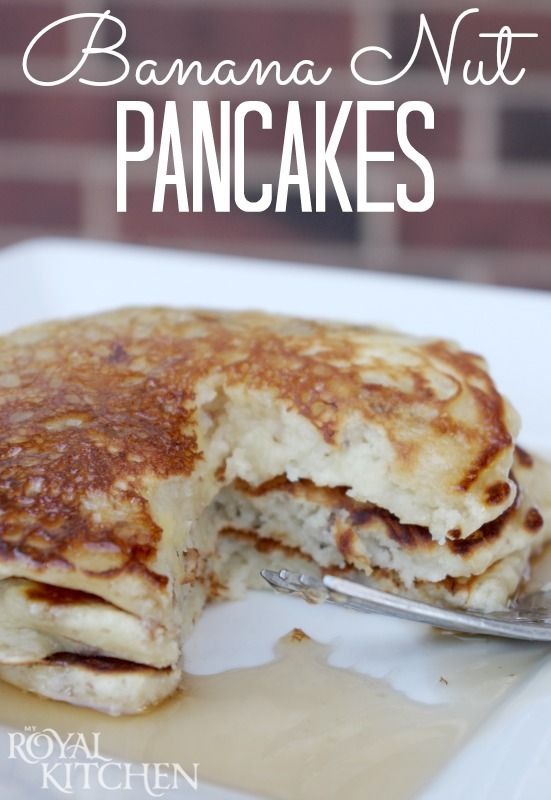 Banana Nut Pancakes - ConsumerQueen.com- Oklahoma's Coupon Queen