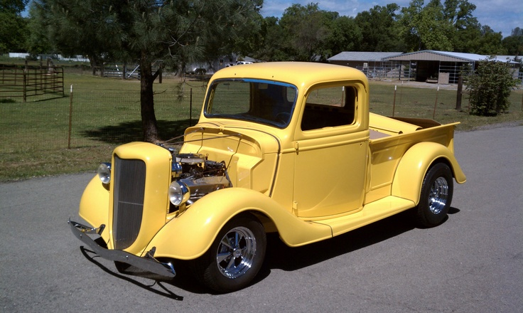 1936 Ford Pickup - present   Classic   Pinterest   Ford ...