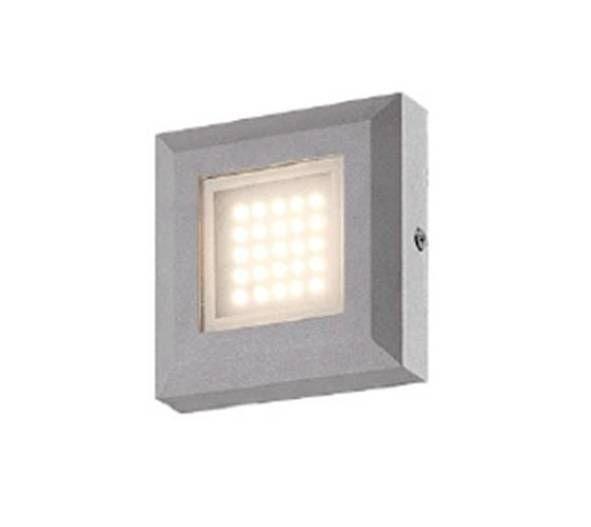 Trova Lampada segnapasso da muro 3W - Grigio Lampada segnapasso da muro 3W - Grigio nella categoria Casa, arredamento e bricolage, Illuminazione da interno, Luci a LED su eBay.it
