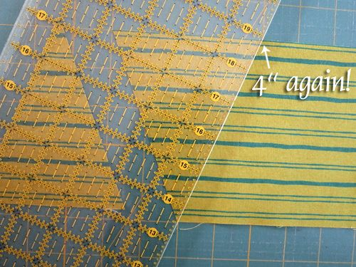 Triangle Quilt Tutorial by Stitched in Color! A great tutorial that guides you through cutting and piecing your own triangle quilt! The possibilities are endless with thousands of fabrics to choose from at the Fabric Shack at http://www.fabricshack.com/cgi-bin/Store/store.cgi