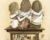 ~ Noel ~ Karen ~ and ~ Tina ~ sisters !  together on tina's birthday last Saturday !