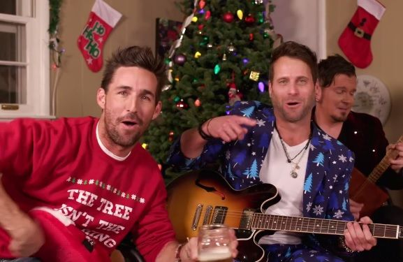 Jake Owen and Parmalee Get Into the 'Christmas Spirits' in Hilarious New Video
