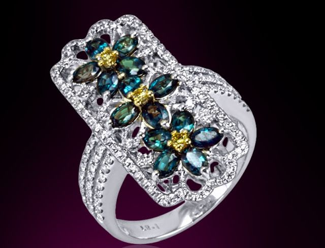 June Birthstone Ring Alexandrite Mark Henry Alexandrite Luxury Trends Luxury Lifestyle Blog Pic