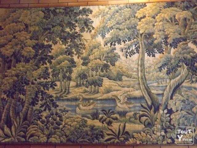 Tapisserie murale tapisserie murale point d 39 halluin for Tapisserie deco murale
